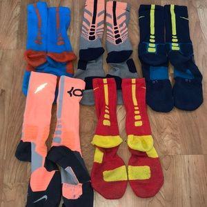 Nike elite basketball socks bundle